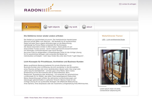 Radon Lichtdesign [Web]