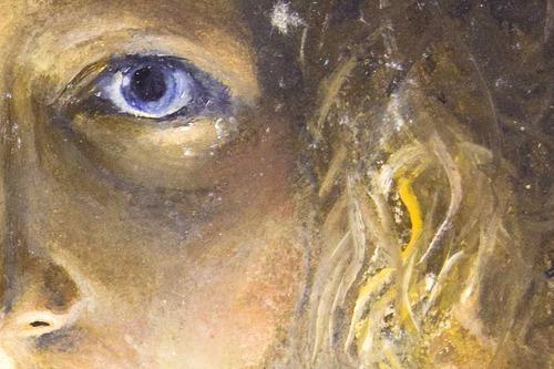 Portrait: Birgit [Malerei]