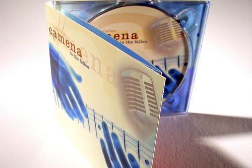 Camena | to the fallen | CD-Digipack (Vorne, Detail)