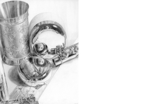 Selbstportrait 4 [Zeichnung]