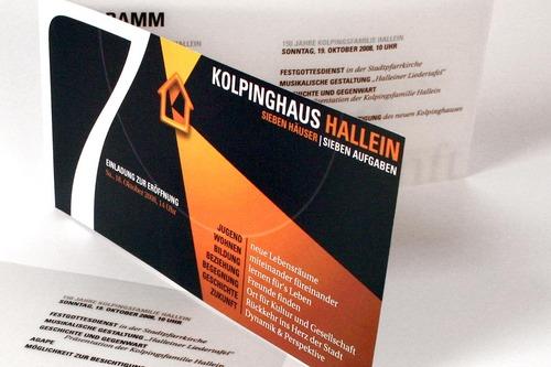 Kolpinghaus Hallein [Folder]