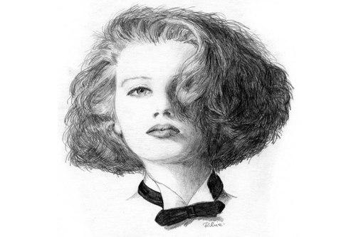Portraits: Serie 1 [Zeichnung]
