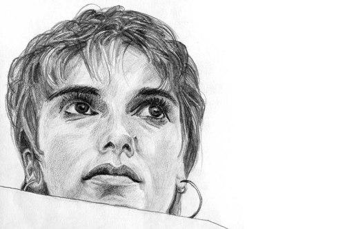 Portraits: Serie 3 [Zeichnung]