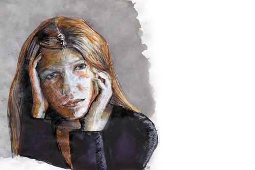 Portraits: Serie 4 [Skizzen]
