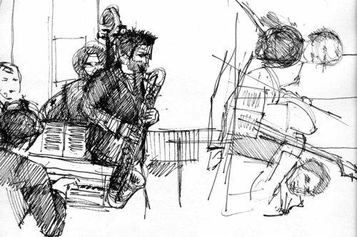 Live-Band: Serie 3 [Skizzen]