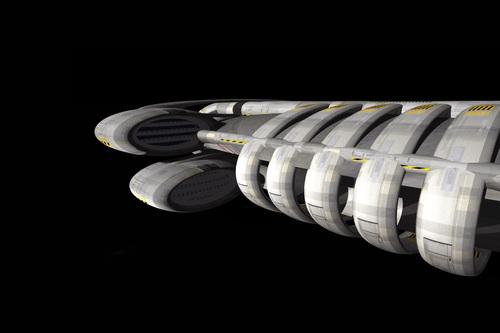 Spacecraft Zeta5 [3D]