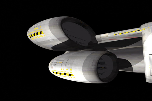 Spacecraft Zeta5 [3D]