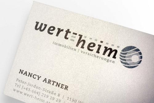 Wert-heim [Geschäftspapiere]