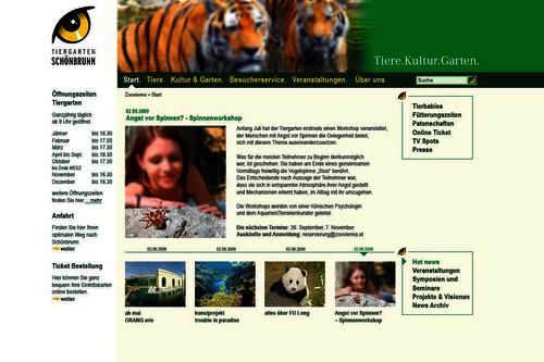 Zoo Schönbrunn [Web]