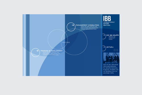 IBB Consulting | Website | Screen Design | Start 1