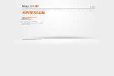 Portfolio Website | Schreiner | Impressum