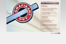 Der Grafikant | Web | Start (Introtext)