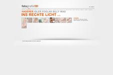 Portfolio Website | Schreiner | Portrait (content)