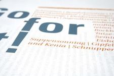 """Am Puls der Zeit   Image Broschüre   Seite 11 (Headline: """"Go for it!"""")"""