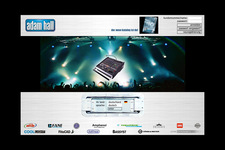 Adam Hall | Website | Startscreen (2)