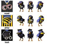 ARCS (AIT) Character Design: Rabe (Modi: Alle)