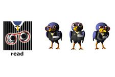 ARCS (AIT) Character Design: Rabe (Modus: Lesen)