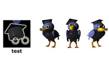 ARCS (AIT) Character Design: Rabe (Modus: Testen)