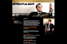 Afentulidis | Website | Music | About Me (Content)