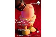 Labelnight 06 | Flyer Vorne (Komplett)