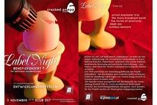 Labelnight 06 | Flyer | beide Seiten (Komplett)