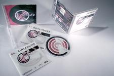 Verpackungsaufnahme: Inlaycard (Jewel-Case), Booklets, Label