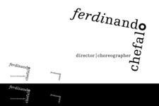 Ferdinando Chefalo | Choreographer & Director | Markenentwicklung | Logoblatt