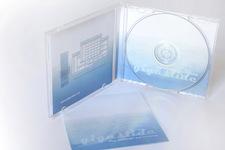 Artware® | Gigaslide® | Verpackung | stehend, geöffnet, CD in Halterung