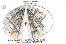 IKEA | Lehrling | Logistikkaufmann/frau | Storyboard Skizze (Detail 3)