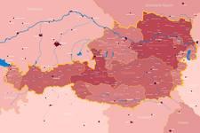 Kolping Österreich | Landkarte | Leuchttafel | Komplett