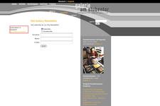Gallerie am Stubentor | Website | Newsletter Anmeldung