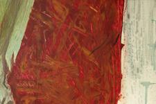 Dagmar 09 | Detail: Textil im Hintergrund