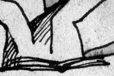 Esmeralda | Skizze 1 | Detail: Hände