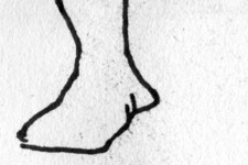 Esmeralda | Skizze 1 | Detail: Fuß