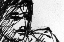 Esmeralda | Skizze 2 | Detail: Kopf