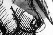 Esmeralda | Skizze 2 | Detail: Brüste