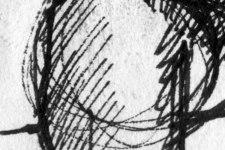 Esmeralda | Skizze 2 | Detail: Bein links