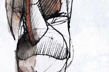 Figur/Skulptur B   Detail 2: Becken