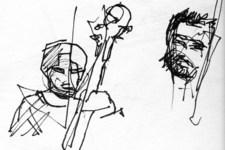 Auszug aus dem Skizzenbuch: Winterreise 1B | Live (Oli & Uli)