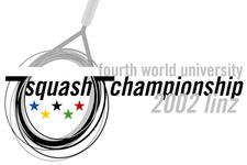 Squash Universitäts Weltmeisterschaften 2002 Linz | Wort-Bild-Marke