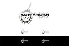 Squash Weltmeisterschaften 2002 | Markenentwicklung | Logoblatt