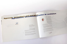 Buch Innen: Seite 46/47 Approvals, declarations and guarantees