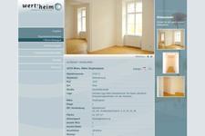 Wert-heim Immobilien | Website | Detailansicht der Mietwohnung