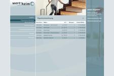 Wert-heim Immobilien | Website | Liste der Eigentumswohnungen