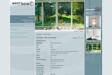Wert-heim Immobilien | Website | Detailansicht der Eigentumswohnung