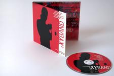Lorenz Raab XY:BAND | Digipack (leicht geöffnet) und CD (Label)