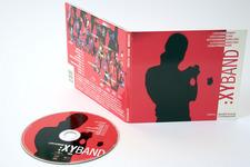 Lorenz Raab XY:BAND | Digipack (voll geöffnet, außen) und CD (Label)