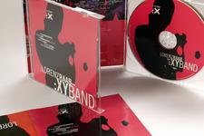XY:BAND | Jewelcase, Booklet, Inlaycard und Label (Detail 2)