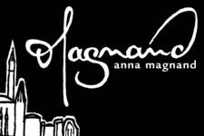 Anna Magnand | Ex libris | Buch Stempel | Kalligraphie (Signatur)