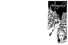 Anna Magnand | Ex libris | Buch Stempel | Illustration (Komplett)